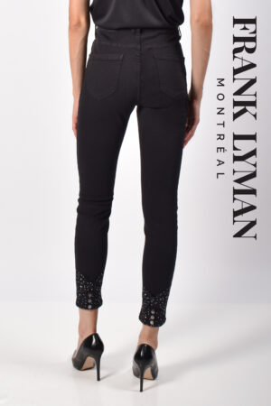 Frank Lyman Denim Pant, Black